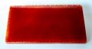 Schriftplatte rot