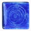 Glas / Farbmuster Moving  blau