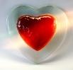 Double Heart / Trägerplatte klar