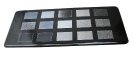 Musterplatte Oberflächenbearbeitung