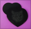 Laserung auf Magic Black Trägerplatte Herz
