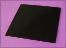 Magic Black Quadrat Trägerplatte