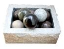 Dekor-Granitkugeln