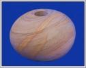 Kugelvase aus Sandstein RNB