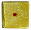 Glas / Farbmuster Moving gelb
