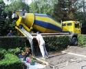 3,4 m³ Beton mit Sondergenehmigung