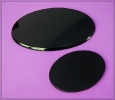 Magic Black Oval Trägerplatten